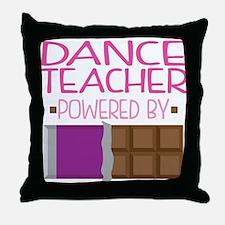 Dance Teacher Throw Pillow