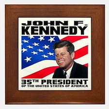 35 Kennedy Framed Tile