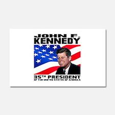 35 Kennedy Car Magnet 20 x 12