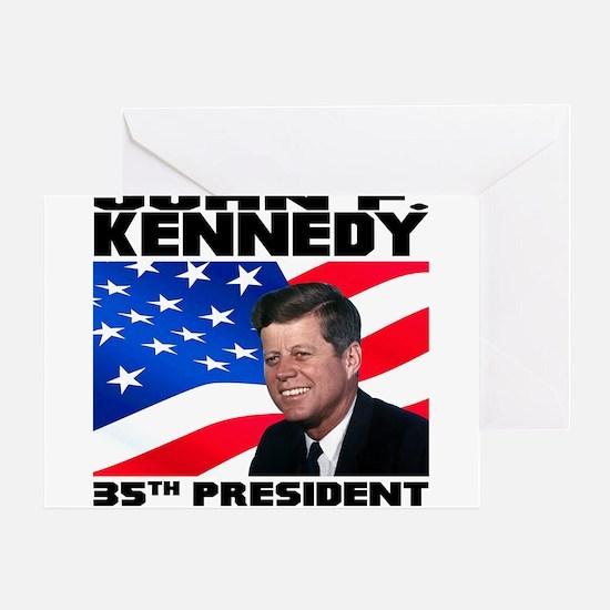 35 Kennedy Greeting Card