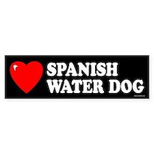 SPANISH WATER DOG Bumper Bumper Sticker