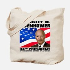34 Eisenhower Tote Bag