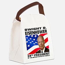 34 Eisenhower Canvas Lunch Bag
