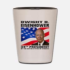 34 Eisenhower Shot Glass