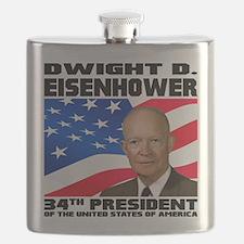 34 Eisenhower Flask