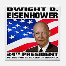 34 Eisenhower Tile Coaster
