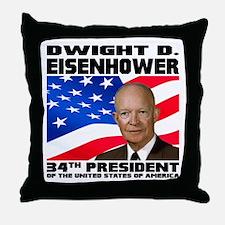 34 Eisenhower Throw Pillow