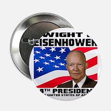 """34 Eisenhower 2.25"""" Button"""