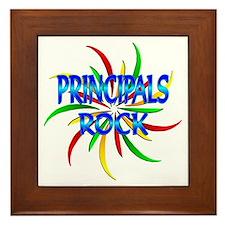 Principals Rock Framed Tile