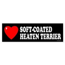 SOFT-COATED WHEATEN TERRIER Bumper Bumper Sticker