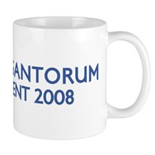 RICK SANTORUM for President Mug