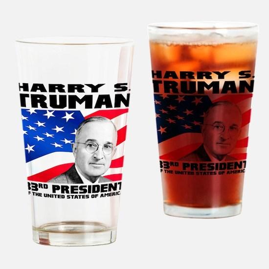 33 Truman Drinking Glass