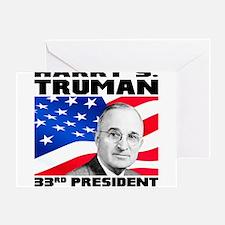 33 Truman Greeting Card