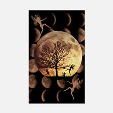 Moon Dance Rectangle Decal