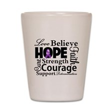ITP Love Believe Hope Shot Glass