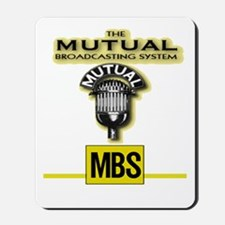 THE MUTUAL BROADCASTING SYSTEM.  OLD TIM Mousepad