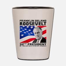 32 Roosevelt Shot Glass