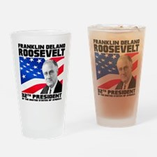 32 Roosevelt Drinking Glass
