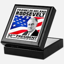 32 Roosevelt Keepsake Box