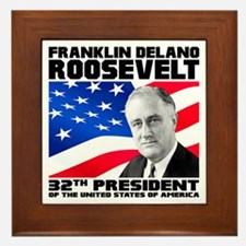 32 Roosevelt Framed Tile