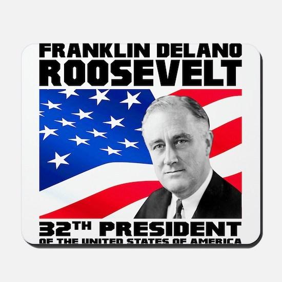 32 Roosevelt Mousepad