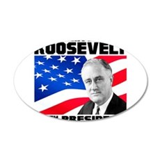 32 Roosevelt Wall Decal