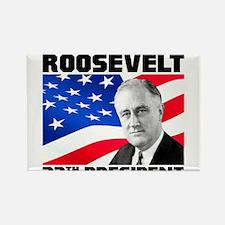 32 Roosevelt Rectangle Magnet