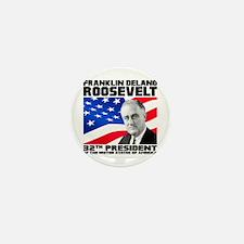 32 Roosevelt Mini Button