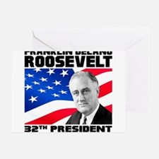 32 Roosevelt Greeting Card