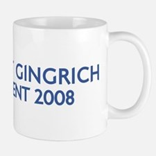 NEWT GINGRICH for President Small Small Mug