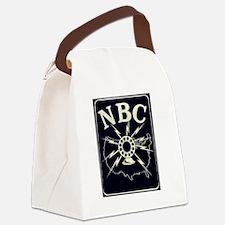 NBC RADIO NETWORK - OLD TIME RADI Canvas Lunch Bag
