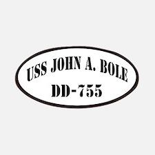 USS JOHN A. BOLE Patch