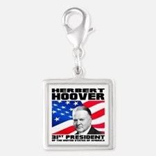 31 Hoover Silver Square Charm