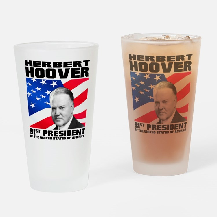 31 Hoover Drinking Glass