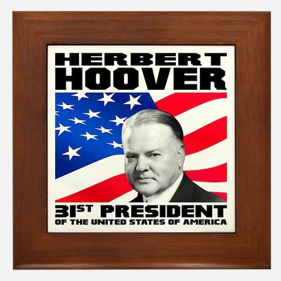 31 Hoover Framed Tile
