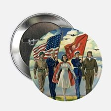 "Vintage Forth of July 2.25"" Button (100 pack)"