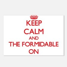 Keep Calm and The Formida Postcards (Package of 8)