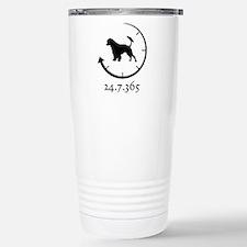 Portuguese Water Dog Stainless Steel Travel Mug
