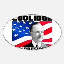 30 Coolidge Sticker (Oval)