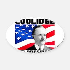 30 Coolidge Oval Car Magnet
