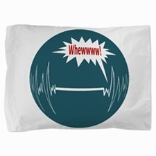 2-WhewOval.png Pillow Sham