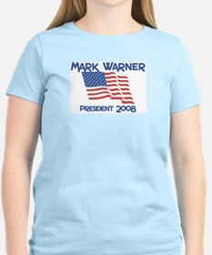 Mark Warner president 2008 T-Shirt