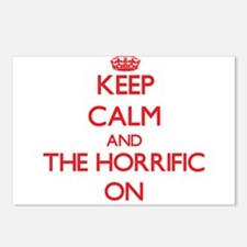 Keep Calm and The Horrifi Postcards (Package of 8)