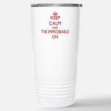 Keep Calm and The Impro Travel Mug