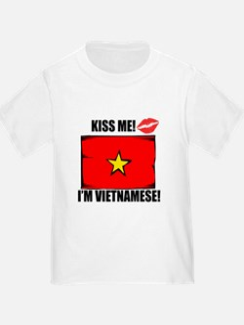 Kiss Me Im Vietnamese T-Shirt