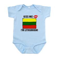 Kiss Me Im Lithuanian Body Suit