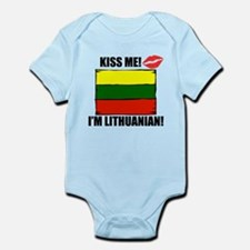 Kiss Me Im Lithuanian Body Suit