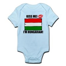 Kiss Me Im Hungarian Body Suit
