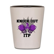 Knock Out ITP Shot Glass