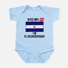 Kiss Me Im El Salvadorian Body Suit